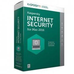 Kaspersky Internet Security pour MAC 2016 (1 poste / 1 an)