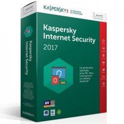 Kaspersky Internet Security 2017 1 Poste / 1 An
