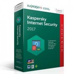 Kaspersky Internet Security 2017 5 Postes / 1 An