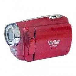 VIVITAR DVR 508NHD - Caméscope Full HD 1080p Rouge