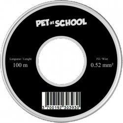 NUM'AXES Bobine de fil 100m Pet at School