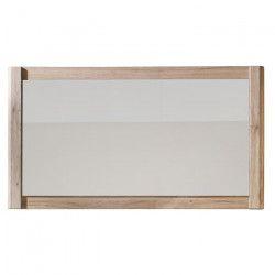 SEVEN Miroir de salle de bain L 117 cm - Décor chene mat