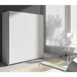STAR Armoire style contemporain blanc - L 170 cm