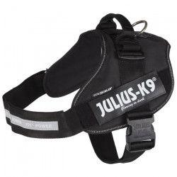 JULIUS-K9 Harnais Power IDC - 3 - XL : 82-115 cm-50 mm - Noir - Pour chien