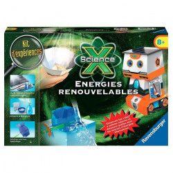 SCIENCE X RAVENSBURGER Energies renouvables Jeu Educatif