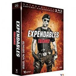 Coffret de film Expendables La Trilogie - En Bluray