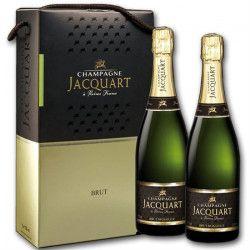 Champagne COFFRET Jacquart Brut Mosaique x2