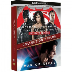 BATMAN VS SUPERMAN - MAN OF STEEL /V BI-FR 4K ULTRA HD + BLU-RAY