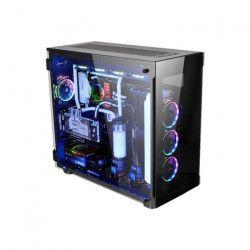THERMALTAKE Boîtier PC View 91 TG RGB Grand tour Format XL-ATX Noir (verre trempé)