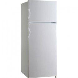 OCEANIC OCEAF2D207W - Réfrigérateur Congélateur haut - 207 L (166 + 41 L ) - Froid statique - A+ - L 55 x H 143