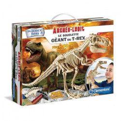 CLEMENTONI Archéo Ludic - Le Squelette Géant du T-Rex - Science & Jeu