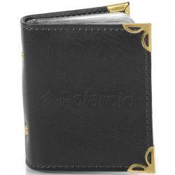 POLAROID PL2X3AB Album photo - 48 photos - Papier Zink 2X3` - Simili cuir noir