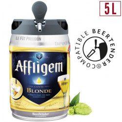 AFFLIGEM Fût de biere Blonde - Compatible Beertender - 5 L