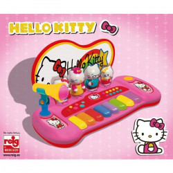 HELLO KITTY Piano avec 8 touches, 8 démos chansons, 3 rythmes, 3 instruments