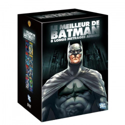 COFFRET BEST OF BATMAN /V 8DVD