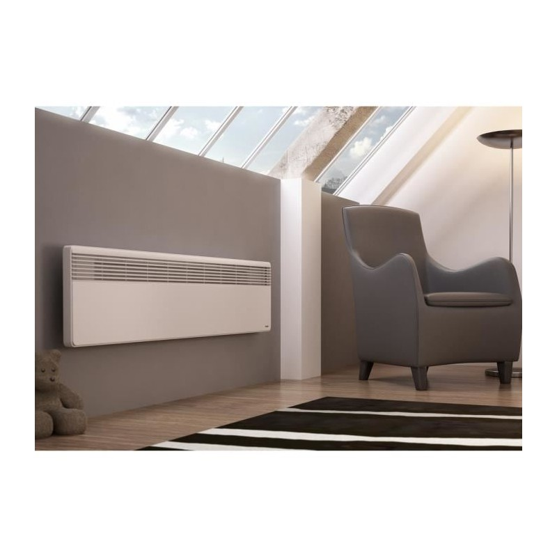 sauter convecteur lectrique lucki plinthe 500w. Black Bedroom Furniture Sets. Home Design Ideas