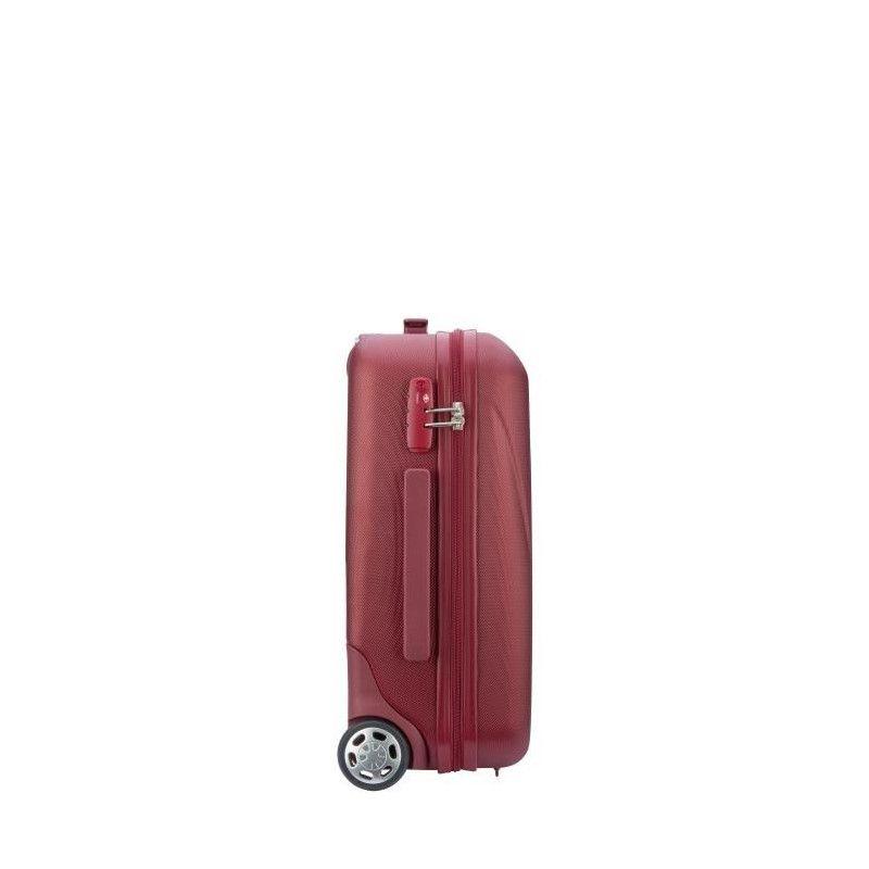50 cm 2 Roues Rouge Visa delsey Valise Cabine Slim Trolley Amplitude
