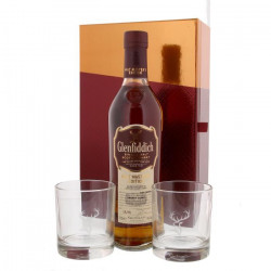 Glenfiddich - Malt Master`s Edition Sherry Cask - Single Malt Scotch Whisky - 43% - 70 cl - Coffret + 2 verres