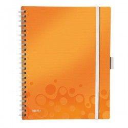 LEITZ Cahier Be Mobile A4 Ligné WOW Orange