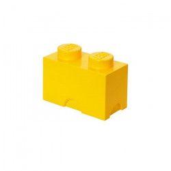 LEGO Brique de rangement - 40021732 - Empilable - Jaune