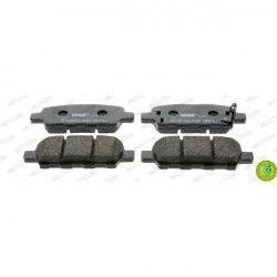 FERODO Lot de 4 Plaquettes de frein FDB4324