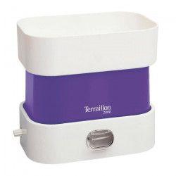 TERRAILLON Balance de cuisine mécanique compacte BA 2000 Pop - 2 kg - Bol 1 L - Violet et blanc