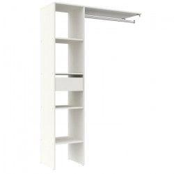 DRESS Dressing - Contemporain - Décor blanc - L 120 cm