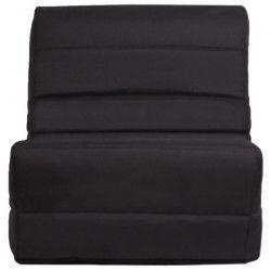 ROMA Banquette convertible BZ 1 place - Tissu gris anthracite - Contemporain - L 80 x P 96 cm