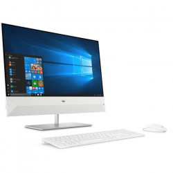 HP PC Tout-en-un 24-xa0025nf - 23,8` FHD - Core i5-8400T - RAM 8Go - Disque Dur 2To HDD + 128Go SSD - Windows 10