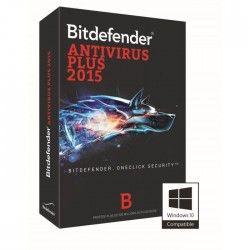 Bitdefender Antivirus Plus 2015 - 1 an / 1 poste