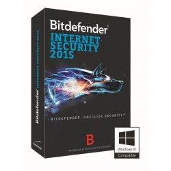 Bitdefender Internet Security 2015 - 1 an / 1 poste