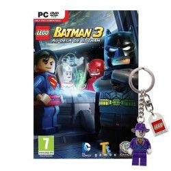 Lego Batman 3 Au Dela de Gotham Jeu PC + Porte-clé