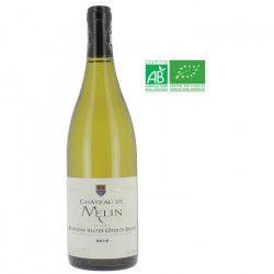 Château de Melin 2016 Bourgogne Haute Côtes de Beaune - Vin blanc de Bourgogne - Bio