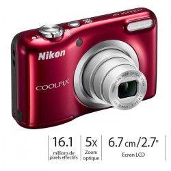 NIKON COOLPIX A10 Rouge Appareil photo compact