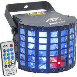 AFX DERBY-GOBOFX Effet de lumiere DMX Combiné avec Derby / Laser rouge et vert