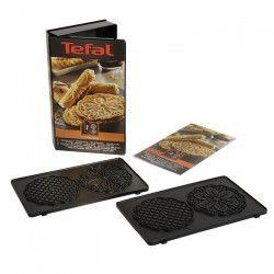 TEFAL Accessoires XA800712 Lot de 2 plaques bricelets Snack Collection