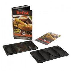 TEFAL Accessoires XA800812 Lot de 2 plaques empanadas Snack Collection