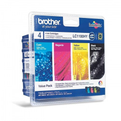 Brother LC1100 Cartouche d`encre Couleurs