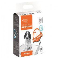 M-PETS Tapis d`apprentissage Easy Fix - 30 pieces - 45x60cm - Pour chiot