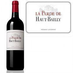La Parde de Haut Bailly Pessac Léognan 2013 vin rouge
