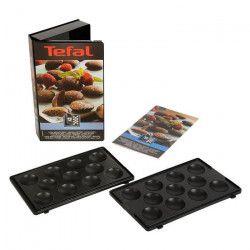 TEFAL Accessoires XA801212 Lot de 2 plaques mini bouchées Snack Collection