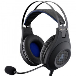 THE G-LAB Casque Gaming KORP CHROMIUM - XTRA BASS sound system - Impédance : 32O - Taille drivers : Ø 50 mm