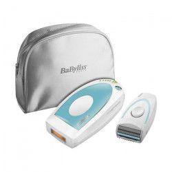 BABYLISS IPL homelight compact Épilateur + rasoir + pochette - 100 000 flashs