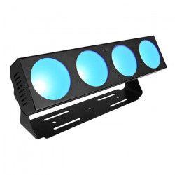 AFX BARCOB4 Barre avec 4 projecteurs a LED Cob RGB intérieure