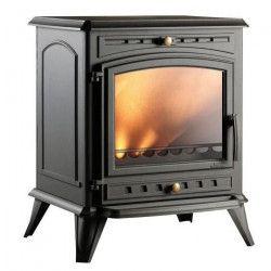 INVICTA Altea 8 Kw Poele a bois en fonte française - Rendement 75 % - Bûches 50 cm - Flamme verte 5 étoiles -