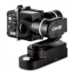 PNJ GW100 Stabilisateur motorisé fixable compatible caméra sport GoPro Hero4 / Hero3+ / Hero3 / PNJ AEE