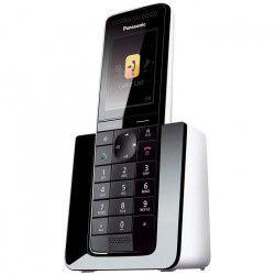 Panasonic KX-PRS110FRW Téléphone sans fil Sans Répondeur Noir Blanc