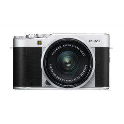 Kit Hybride Fujifilm X-A5 Silver avec Objectif XC 15-45 mm PZ Argent