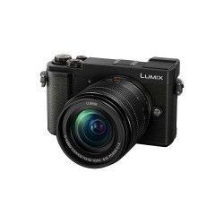 Hybride Panasonic Lumix GX9 Noir + Objectif Lumix G Vario 12-60 mm f/3.5-5.6 Tropicalisé Noir