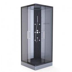 AURLANE Cabine de douche Hydromassante Pure Square 90x90cm